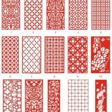 laser cutting metal design catalog file